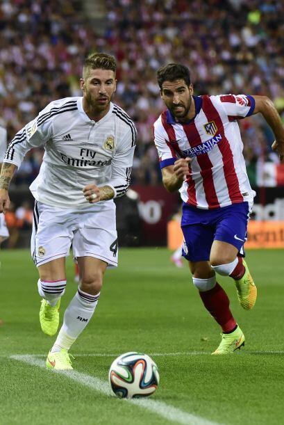 Al contragolpe el Atlético de Madrid tuvo varias oportunidades de amplia...