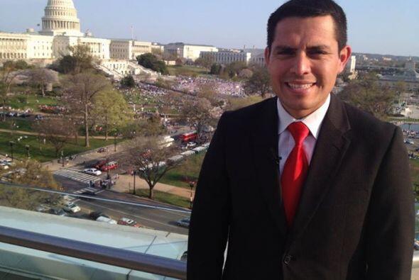 Pedro Rojas y Nick García se fueron hasta Washington D.C. la primera sem...