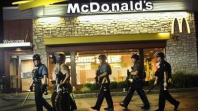 Las protestas también han afectado a los negocios en Ferguson.