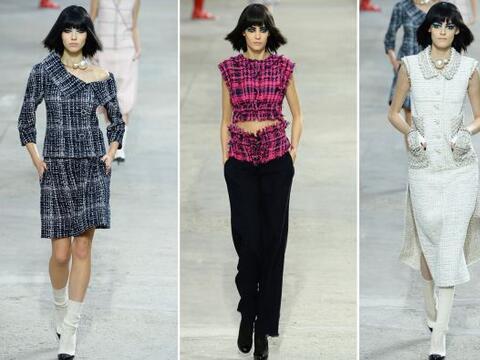 El diseñador Karl Lagerfeld presentó un desfile inspirado...