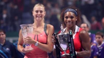 Como la final en Estanbul, Turquñia, ahora Serena Williams y María Shara...