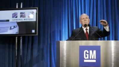 El presidente ejecutivo de GM, Dan Akerson, no cree que la compañía este...