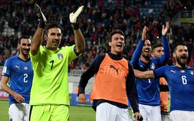 Los italianos deberán enfrentar a Suecia en un repechaje de alarido.