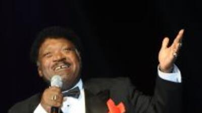 El cantante de soul falleció a los 73 años en su casa en Baton Rouge, Lu...