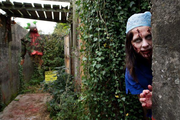 La caracterización de todos los zombis le aportó una gran realismo a la...