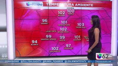 Advertencia por calor extremo en Austin