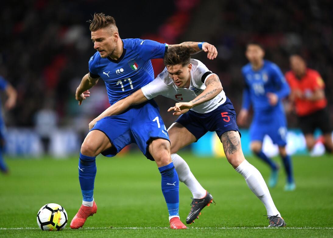 En fotos: Inglaterra e Italia empataron en Wembley por 1-1 gettyimages-9...