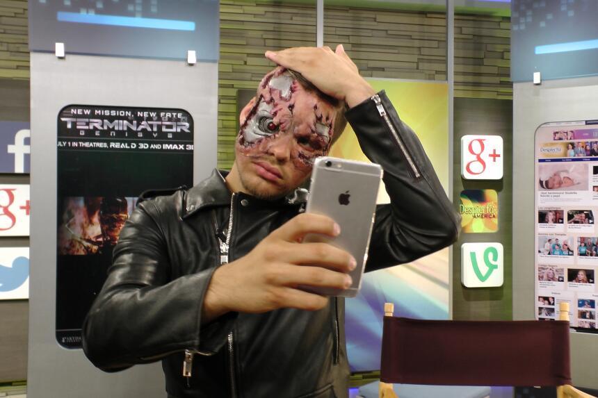 William Valdes se transforma en Terminator