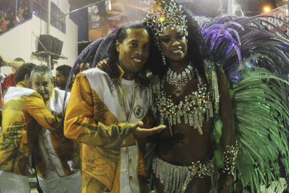 En el Sambódromo carioca es uno de los personajes más destacados y las h...