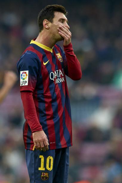 El Barcelona parecía un equipo diferente, con balones perdidos y fallos...