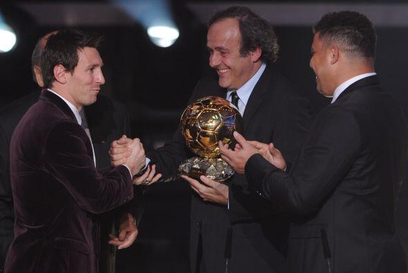 Todos se unieron para aplaudir al ganador, Lionel Messi.