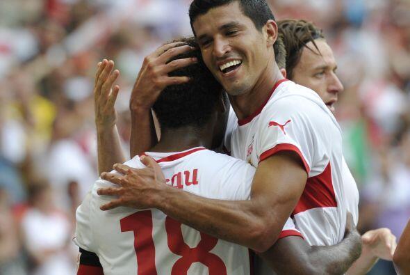 El mexicano Francisco Rodríguez aparece al brillar con el Stuttgart.