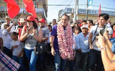 El exfutbolista es candidato a la gubernatura del estado de Morelos.