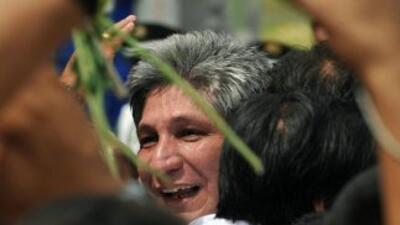 El ex diputado colombiano Sigifredo López, antiguo rehén de las FARC e i...
