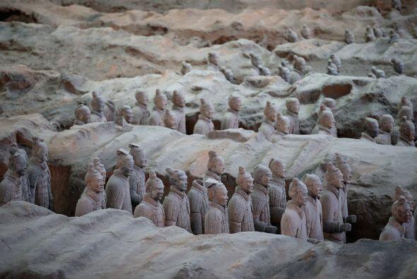 Fueron mandados fabricar por el primer emperador de China, Qin Shi Huang...