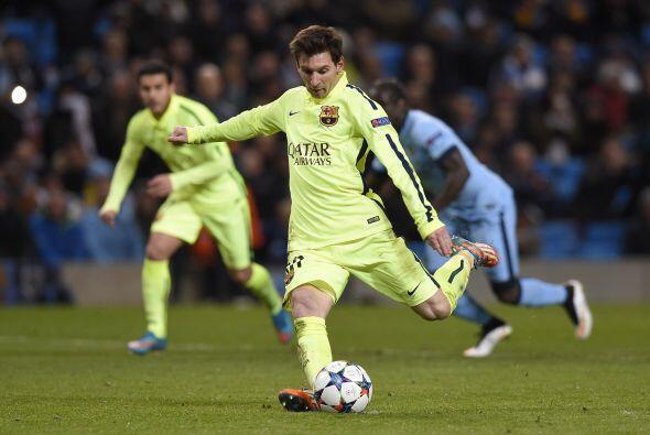 Sería el mismo Lionel Messi el encargado de cobrar la pena máxima, la cu...