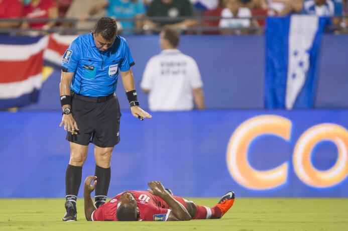 Canadá y Honduras empatan sin mayores emociones Arbitro Joel Aguilar (SL...