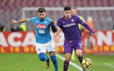 Nápoles vs. Fiorentina
