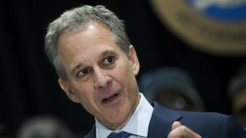 El fiscal federal de Nueva York, Eric Schneiderman.