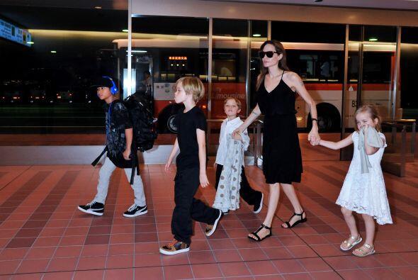 La familia Jolie Pitt es una familia grande y cada uno de sus integrante...