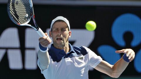 Novak Djokovic avanzó sin contratiempos a segunda ronda.