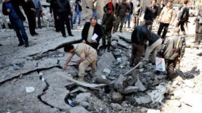 Los ataques por parte del Ejército sirio se recrudecieron a un día de qu...