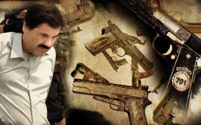 Armas narcotraficantes