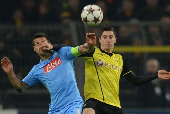 El Borussia Dortmund necesitaba ganar su duelo ante el Nápoli para mante...