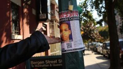 Tras la desaparición del niñoAvonte Oquendo miles de carteles fueron co...