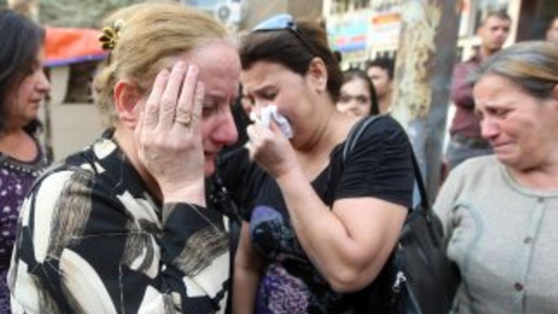 La serie de ataques afectó principalmente barrios chiíes en Bagdad, dond...