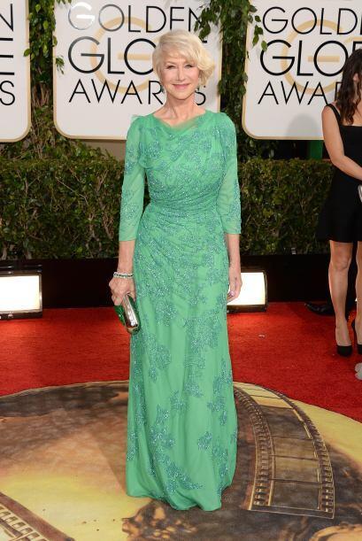 Para su edad, Helen Mirren lució bastante bien. Esta famosa sabe qué tip...