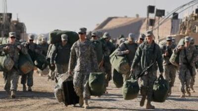 La retirada estadounidense, inscrita en un tratado bilateral de 2008, es...