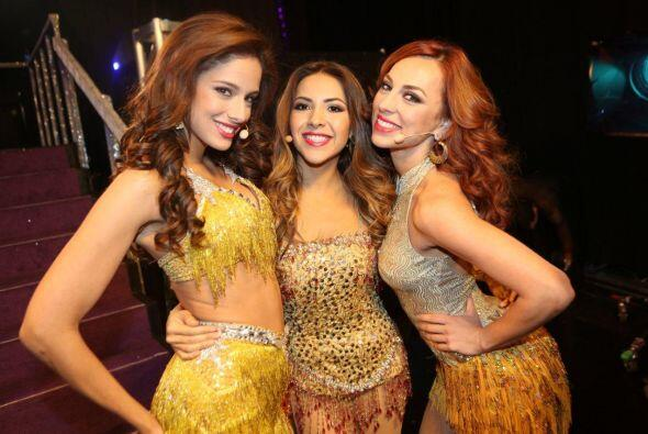 "Las bellas del ""Team Denise"" hicieron un 'performance' al estilo del Cir..."