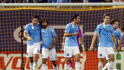 Lampard y Pirlo funcionaron para NYCFC.
