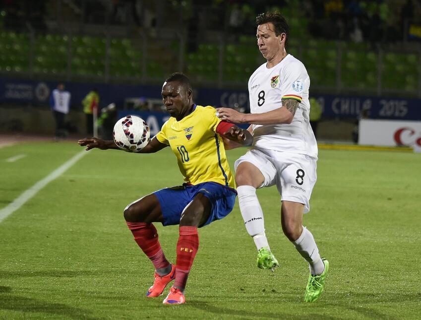 Bolivia derrota a Ecuador