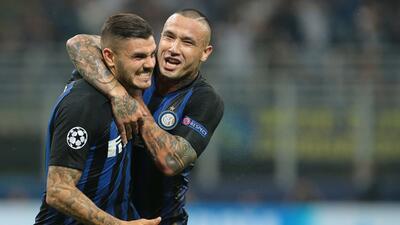 En fotos: épica remontada de Inter contra Tottenham en su regreso a Champions League