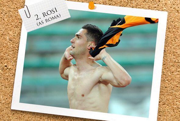 Aleandro Rosi da la sorpresa al aparecer en la lista en la zona de la de...