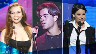 Apostamos a que no los reconoces: así se veían estos 40 famosos la primera vez que estuvieron en Premio Lo Nuestro