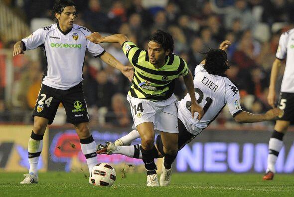 En otro juego del día, Valencia recibió al Hércules.