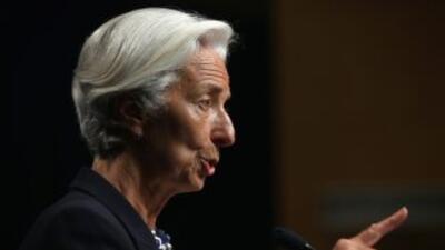 La directora gerente del FMI,Christine Lagarde.