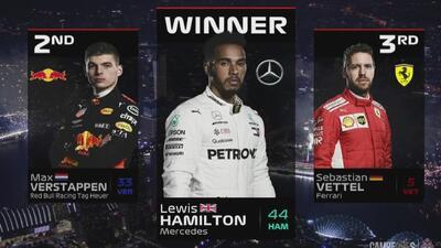 ¡Más líder que nunca! Hamilton se lleva el Gran Premio de Singapur