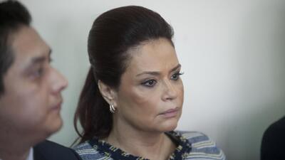 Detienen a la ex vicepresidenta de Guatemala Roxana Baldetti