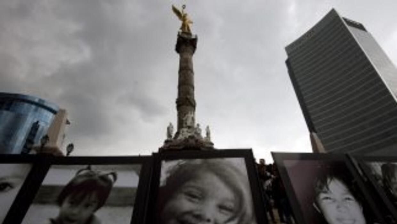 Familiares de las víctimas de la Guardería ABC se manifiestan en Ciudad...