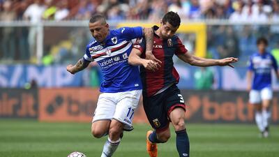 Génova goleó al Sampdoria en el derbi con doblete de Suso