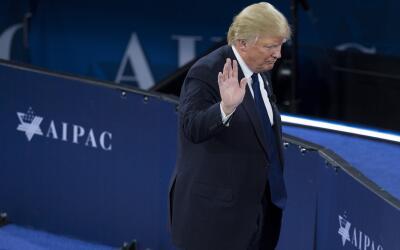 Precandidato republicano Donald Trump