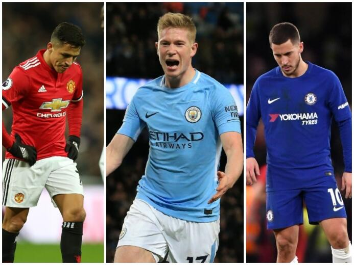 Manchester City amplía su ventaja tras derrotas del United y Chelsea unt...