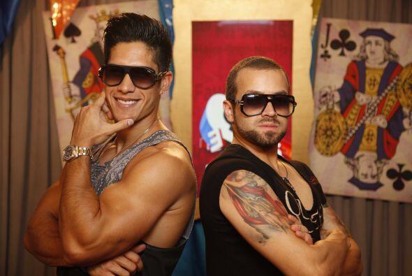 Yeah! Chino y Nacho son puro músculo.