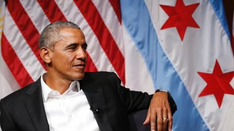 Barack Obama en Chicago