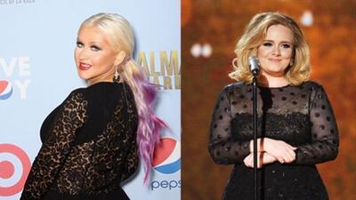 Adele salió en defensa de Christina Aguilera, luego de que su cambio de...