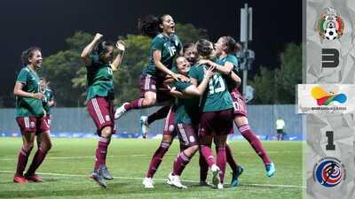 México defiende su oro de JCC al vencer 3-1 a Costa Rica